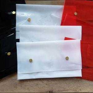Allure Beauty Box Clutch-like Cosmetics Bag Lot